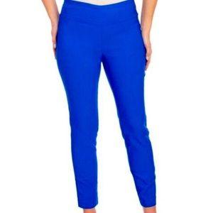 Jules & Leopold bright blue stretch pants xl